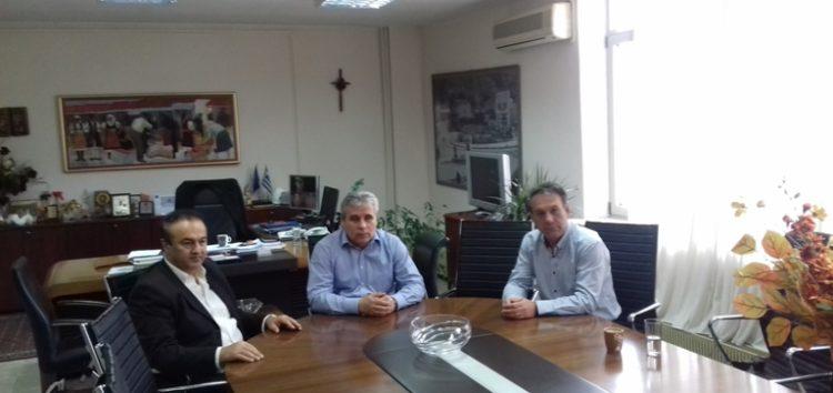 Συνάντηση του αντιπεριφερειάρχη Φλώρινας με τον βουλευτή Γιάννη Αντωνιάδη