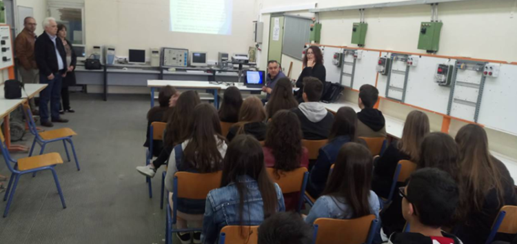 Επίσκεψη του Γυμνασίου Βεύης στο 1ο Ε.Κ. και 1ο ΕΠΑ.Λ. Φλώρινας