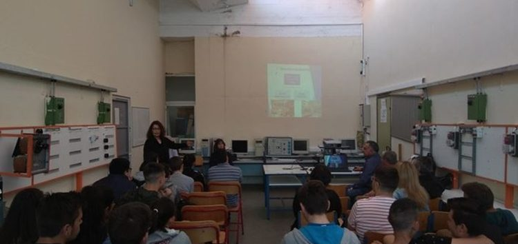 Επίσκεψη του 3ου Γυμνασίου Φλώρινας στο 1ο Ε.Κ. και 1ο ΕΠΑ.Λ. Φλώρινας (pics)
