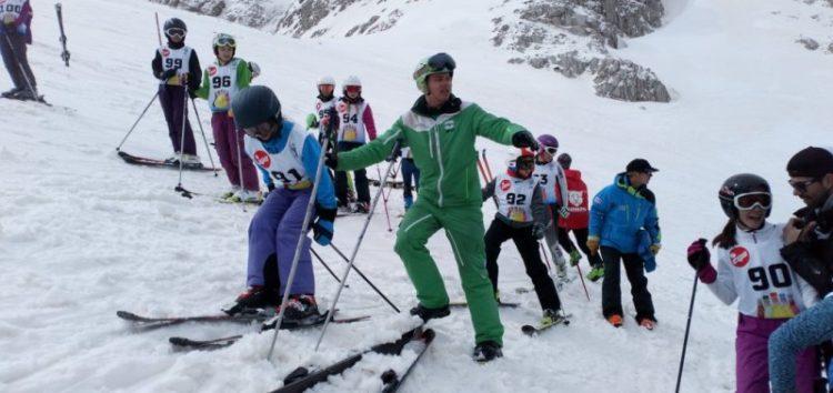 Ο ΣΟΧ Φλώρινας στους πανελλήνιους αγώνες αλπικού σκι στον Παρνασσό (pics)