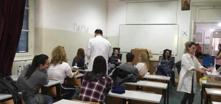 Ολοκληρώθηκε η εθελοντική αιμοδοσία του Συλλόγου Φοιτητών ΤΕΙ Φλώρινας