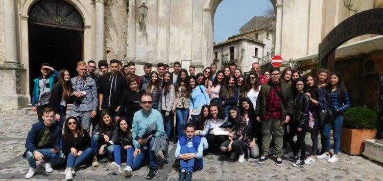Εκπαιδευτική επίσκεψη του Εκκλησιαστικού Λυκείου – Γυμνασίου Φλώρινας στη Νότια Ιταλία