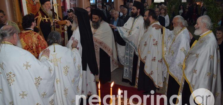 Λαμπρός ο εορτασμός του Αγίου Γεωργίου στη Φλώρινα (video, pics)