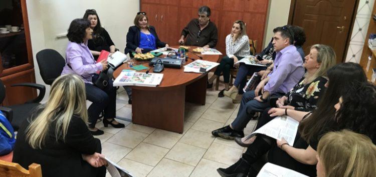 Επίσκεψη της αναπληρώτριας υπουργού Κοινωνικής Αλληλεγγύης Θ. Φωτίου στο Κέντρο Κοινωνικής Πρόνοιας Φλώρινας (pics)