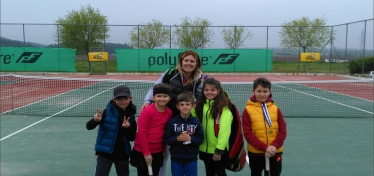 Τρία κύπελλα για την ομάδα τένις της Λέσχης Πολιτισμού Φλώρινας (pics)