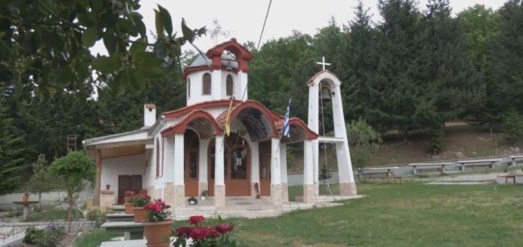 Παράκληση και Ιερές Ακολουθίες στο Ιερό Προσκύνημα Αναλήψεως Κυρίου Αγίου Βαρθολομαίου