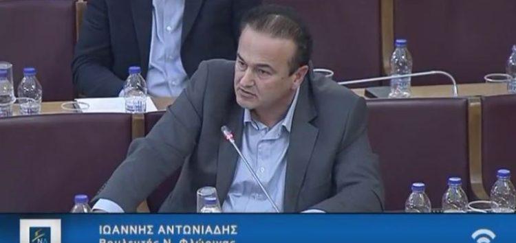 Ομιλία του Γιάννη Αντωνιάδη στην Επιτροπή Παραγωγής και Εμπορίου της Βουλής στο νομοσχέδιο για τα Εμπορικά Σήματα (video)
