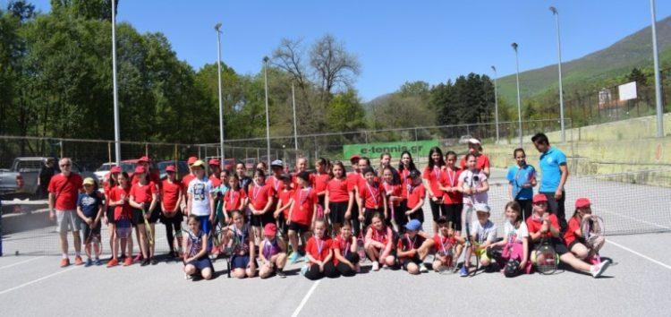 Επιτυχημένο το 5ο προπαιδικό πρωτάθλημα τένις Κεντροδυτικής Μακεδονίας από την ομάδα της Λέσχης Πολιτισμού Φλώρινας