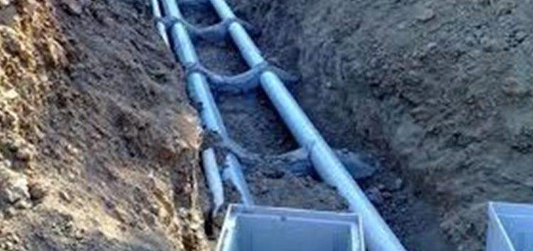 Υπογράφηκε η σύμβαση εκτέλεσης του έργου του εσωτερικού δικτύου ύδρευσης της τοπικής κοινότητας Αγίου Παντελεήμονα