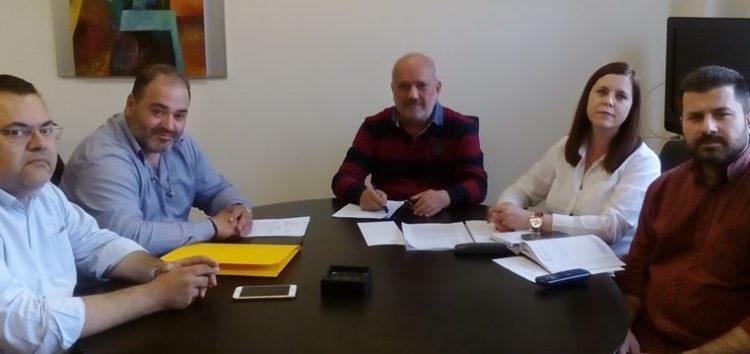 Υπογράφηκε η σύμβαση εκτέλεσης του έργου του εσωτερικού δικτύου ύδρευσης της τοπικής κοινότητας Κέλλης
