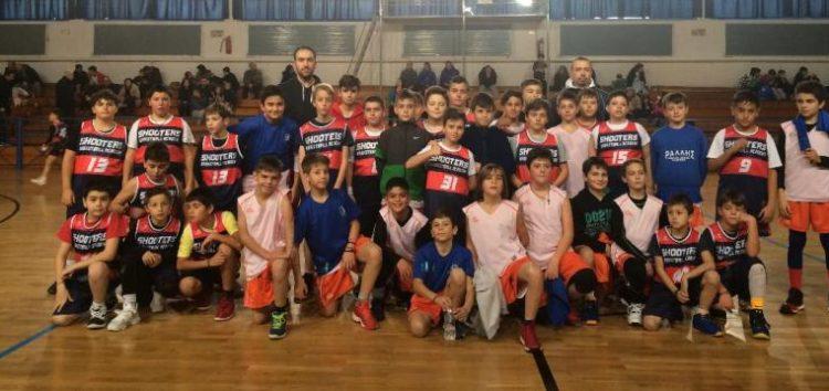 Shooters: Τουρνουά μπάσκετ μικρών ηλικιών – συνέχεια για το πρωτάθλημα παμπαίδων