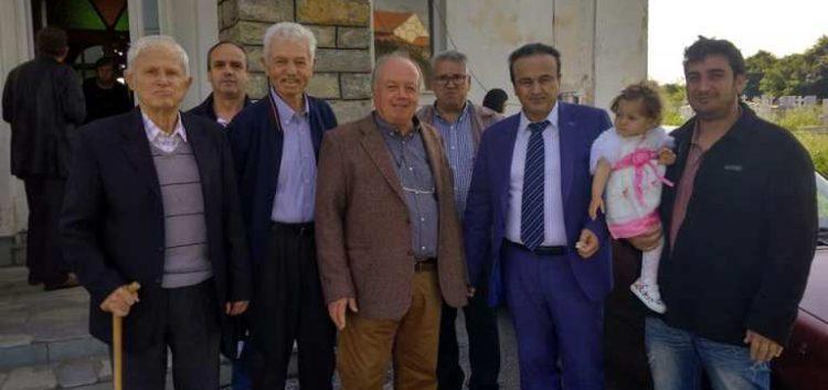 Επίσκεψη του βουλευτή Γιάννη Αντωνιάδη στην Υδρούσα