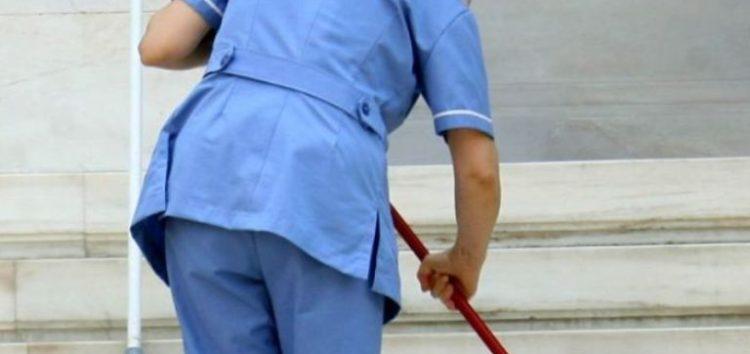 Απεργία των εργαζομένων στην καθαριότητα των σχολείων