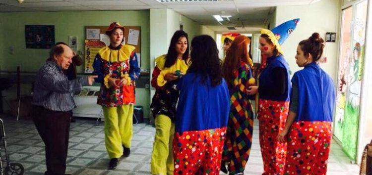Η θεατρική ομάδα «Πολύμορφο» του Πανεπιστημίου παρουσιάζει την παράσταση «Γελάστε – Διασκεδάστε με τους κλόουν»
