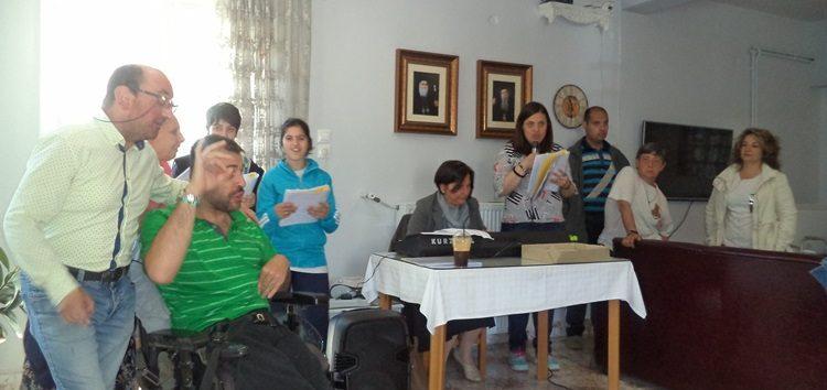Επίσκεψη των παιδιών του ΚΕΦΙΑΠ Φλώρινας στο Γηροκομείο (pics)
