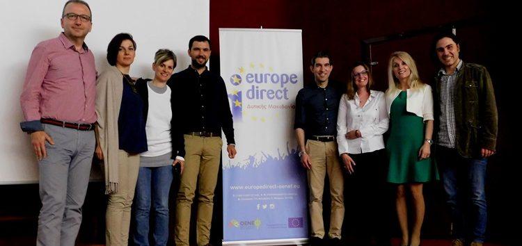 Το Εκκλησιαστικό Γυμνάσιο – Λύκειο Φλώρινας στον εορτασμό της Ημέρας της Ευρώπης (video, pics)