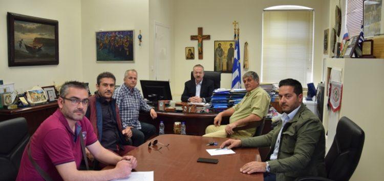 Συνάντηση του δημάρχου Φλώρινας με τους αντιπροέδρους του Επιμελητηρίου Φλώρινας