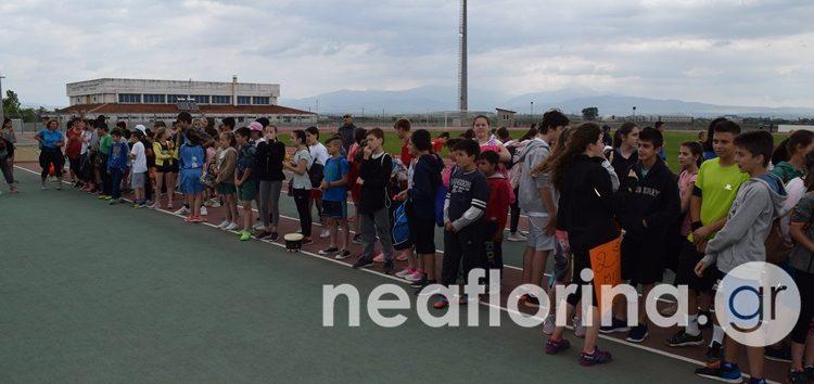 Οι αγώνες κλασικού αθλητισμού των δημοτικών σχολείων της Π.Ε. Φλώρινας (video, pics)
