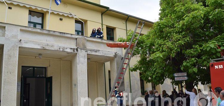 Άσκηση μερικής εκκένωσης του νοσοκομείου Φλώρινας (video, pics)