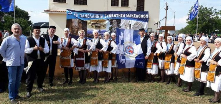 Η Τοπική Διοίκηση Φλώρινας της Διεθνούς Ένωσης Αστυνομικών στην 3η Πανελλήνια χορευτική συνάντηση Μακεδόνων στην Αμφίπολη