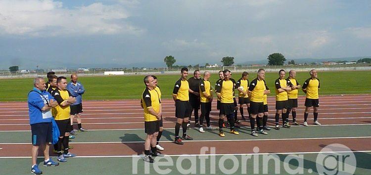 «Ναι στη ζωή, όχι στα ναρκωτικά» το μήνυμα φιλικού αγώνα ποδοσφαίρου στη Φλώρινα (video, pics)