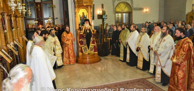 Πανηγυρικός Εσπερινός του Αγίου Αγαθαγγέλου στη Φλώρινα