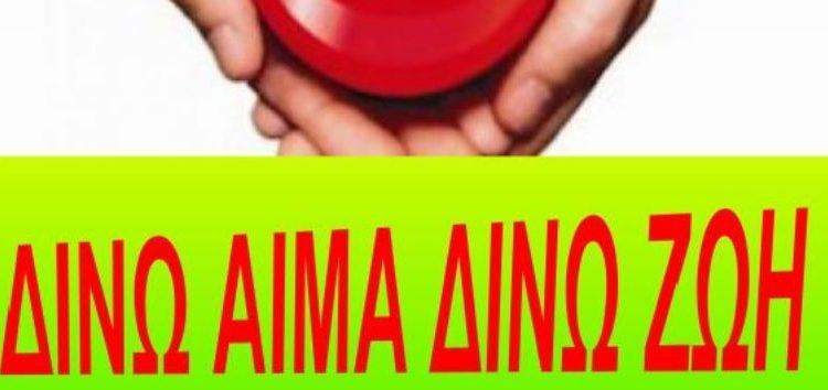 Εβδομάδα Εθελοντικής Αιμοδοσίας από τον Σύλλογο Εκπαιδευτικών Πρωτοβάθμιας Εκπαίδευσης Φλώρινας