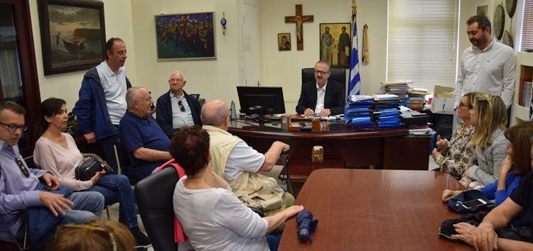 Συνάντηση του δημάρχου Φλώρινας με απογόνους Ισραηλιτών που έζησαν στην περιοχή της Φλώρινας (pics)