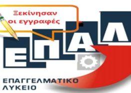 Ξεκίνησαν οι εγγραφές στο 1ο ΕΠΑΛ Φλώρινας για το σχολικό έτος 2019 – 2020
