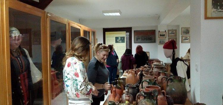 Επίσκεψη του ΣΔΕ Φλώρινας στη λαογραφική συλλογή  του «Αριστοτέλη» (pics)