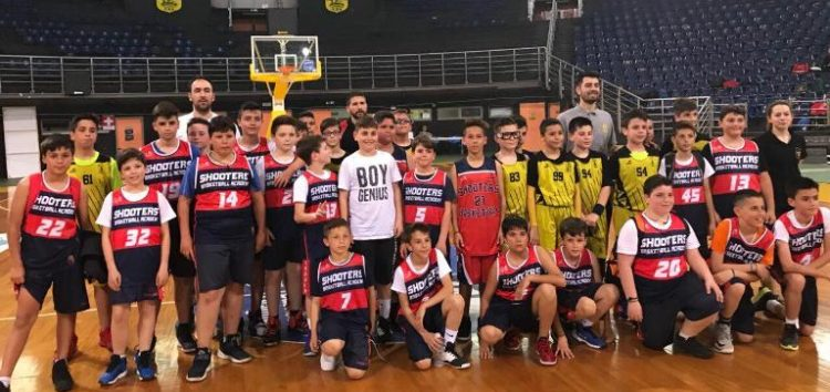 Στον Άρη Θεσσαλονίκης η Ακαδημία Shooters – Συνέχεια στο πρωτάθλημα παμπαίδων
