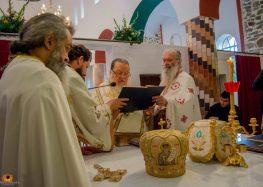 Εγκαίνια του Ιερού Ναού Αγίου Νικολάου Αμμοχωρίου (videos)