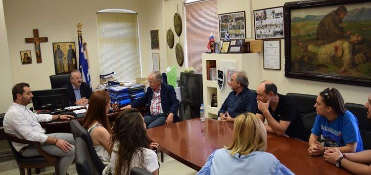 Συνάντηση του δημάρχου Φλώρινας με μαθητές του τμήματος Τεχνικών Συντήρησης Έργων Τέχνης και Αρχαιοτήτων του Δ.Ι.ΕΚ. Φλώρινας (pics)