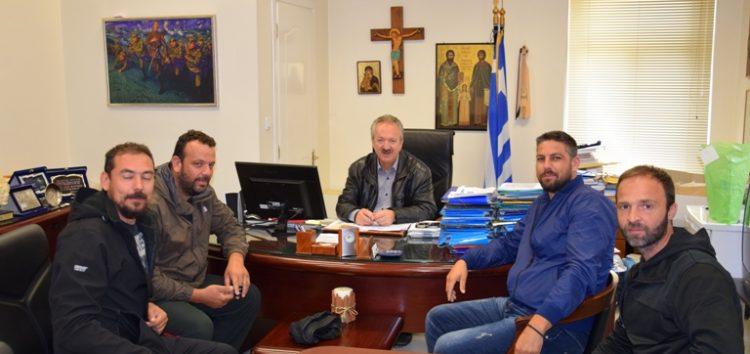 Συνάντηση του δημάρχου Φλώρινας με το νέο Δ.Σ. του Ιππικού Αθλητικού Συλλόγου Φλώρινας