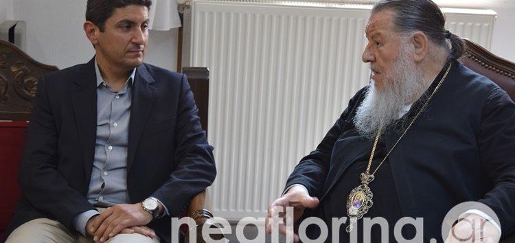 Μητροπολίτης Θεόκλητος προς Λ. Αυγενάκη: «Ήρθατε σε μια περίοδο που πενθούμε» (video)