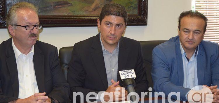 Λευτέρης Αυγενάκης: Η Νέα Δημοκρατία θα καταψηφίσει τη Συμφωνία των Πρεσπών (video, pics)