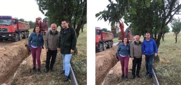 Έναρξη κατασκευής εσωτερικού δικτύου ύδρευσης Αγίου Παντελεήμονα