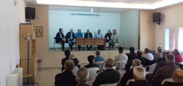 Ξεκίνησαν οι εργασίες για τους αναδασμούς σε Αμμοχώρι και Σιταριά (pics)