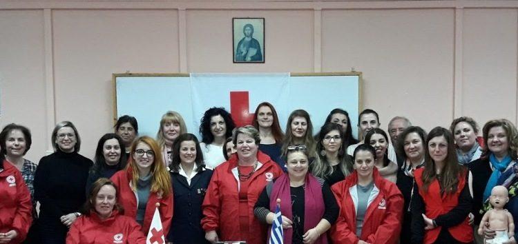 Ολοκλήρωση εκπαιδεύσεως εθελοντών νοσηλευτικής Ελληνικού Ερυθρού Σταυρού στο Αμύνταιο