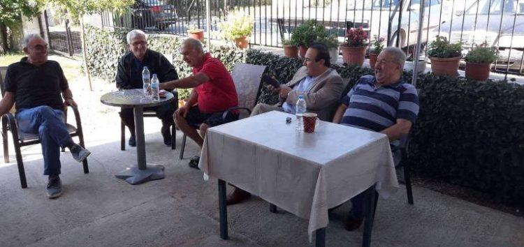 Επίσκεψη του βουλευτή Γιάννη Αντωνιάδη στην τοπική κοινότητα Νέου Καυκάσου