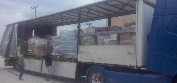 Ανθρωπιστική βοήθεια από τη Δυτική Μακεδονία στους πυρόπληκτους της Αττικής