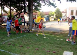 Βόλεϊ: Παρών στο αθλητικό φεστιβάλ του Αμυνταίου ο Αριστέας (videos, pics)