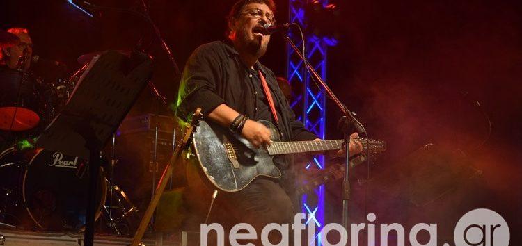 Ο Λαυρέντης Μαχαιρίτσας στη σκηνή του 3ου Meliti Beer Festival (video, pics)