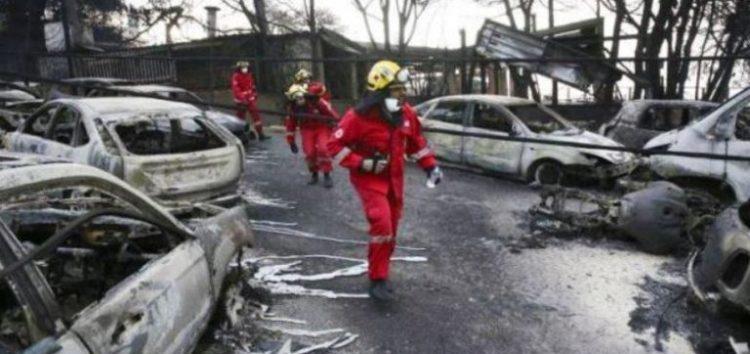 Άνοιγμα τραπεζικού λογαριασμού από τον Ελληνικό Ερυθρό Σταυρό για την ενίσχυση των πληγέντων από τις φονικές πυρκαγιές