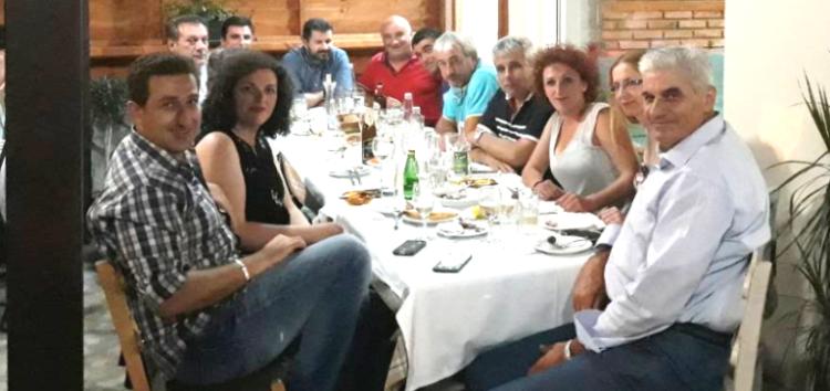 Συνάντηση στην Τ.Κ. Αγίου Παντελεήμονα για τα ζητήματα που αφορούν τη λίμνη Βεγορίτιδα
