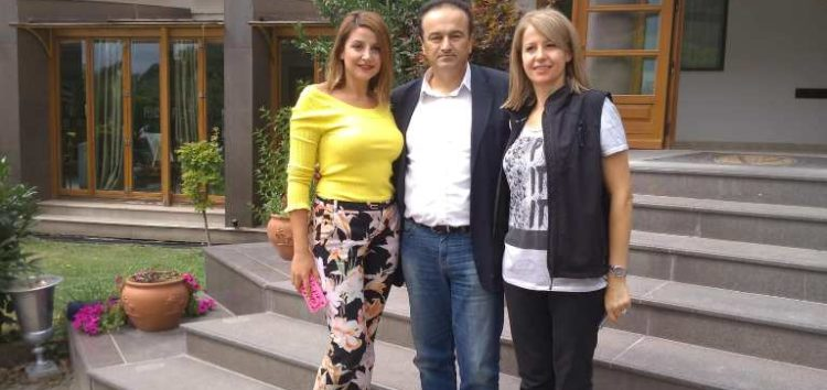 Επίσκεψη του βουλευτή Γιάννη Αντωνιάδη στις επιχειρήσεις Βέλτση (pics)