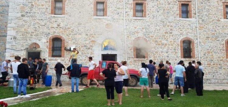 Έρανος για την αποκατάσταση των ζημιών στον Ιερό Ναό Κοίμησης Θεοτόκου Κέλλης