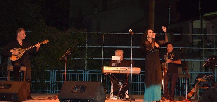 Η Ελένη Φιλίνη και ο Διαμαντής Διονυσίου στο «Πολιτιστικό Καλοκαίρι» του δήμου Φλώρινας (video, pics)