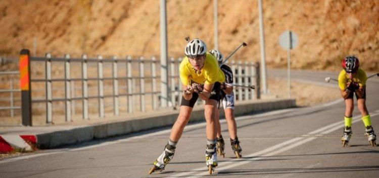 Το Διεθνές Kύπελλο Roller Ski στο φράγμα Τριανταφυλλιάς