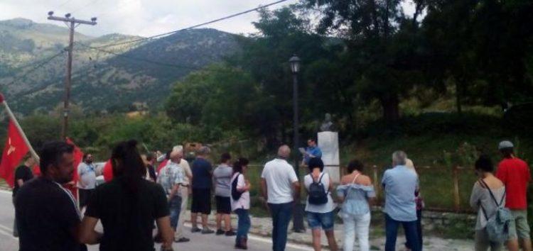 Εκδήλωση τιμής και μνήμης για τους μαχητές του ΔΣΕ στα χωριά Βατοχώρι και Κώττα
